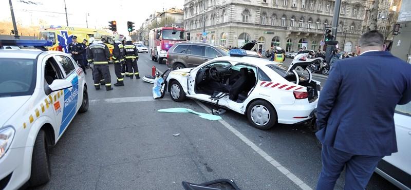 Lovasi András okozta a balesetet, amelyben két rendőr is megsérült