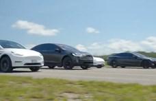 Melyik is a leggyorsabb Tesla jelenleg? – videó