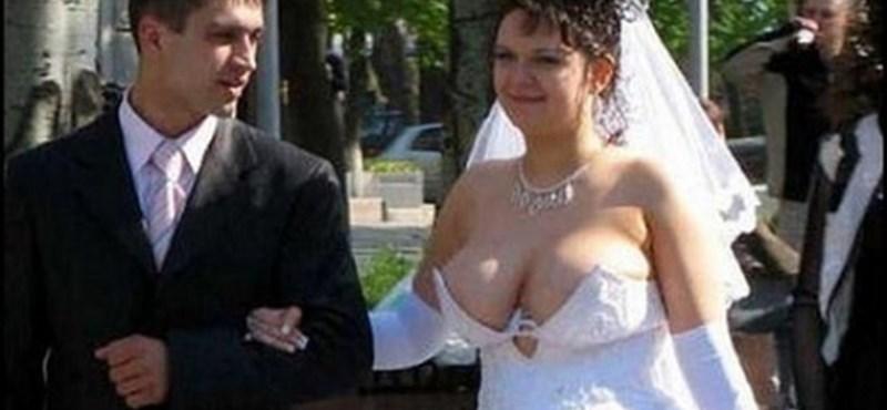 A világ legszörnyűbb menyasszonyi ruhái - fotó, videó