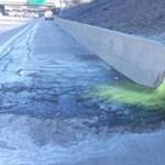 Rákkeltő anyag folyt ki egy autópályára Amerikában