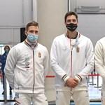 Nem jutott ki a tokiói olimpiára a férfipárbajtőr-csapatunk