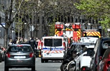 Lövöldözés volt egy francia oltópontnál, a támadó motorra pattanva elmenekült