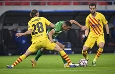 Botka a Barcelona elleni vereségről: Azt éreztük, extrát tudunk nyújtani, de sajnos nagyon hamar eldőlt, hogy nem