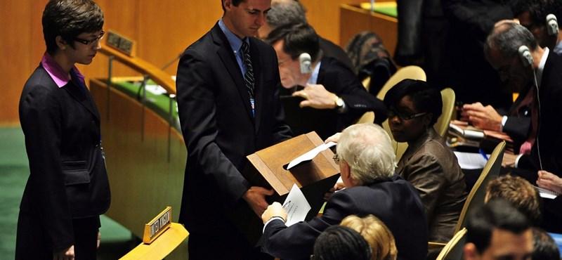 Elbukta Magyarország az ENSZ BT-tagságot