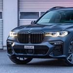 646 lóerős változat is készült a BMW X7 divatterepjáróból