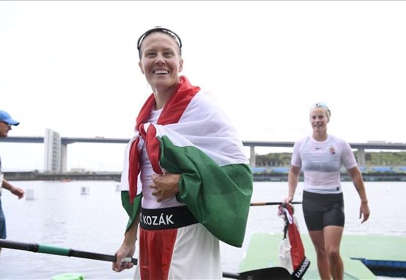 Danuda Kozak je najuspešnejša madžarska olimpijka vseh časov