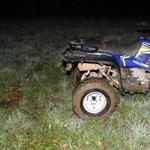 Kiskamasz lány halt meg Szlovákiában, mikor egy részeg fiú fának csapódott egy quaddal