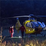 Videón a mentőhelikopter balesetének pillanata