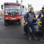 Felborultak Szalayék a Dakaron