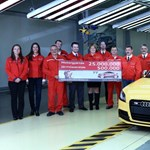 Kettős jubileumot ünnepel az Audi Győrben