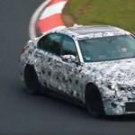Már javában tesztelik az új BMW M3-at – videó