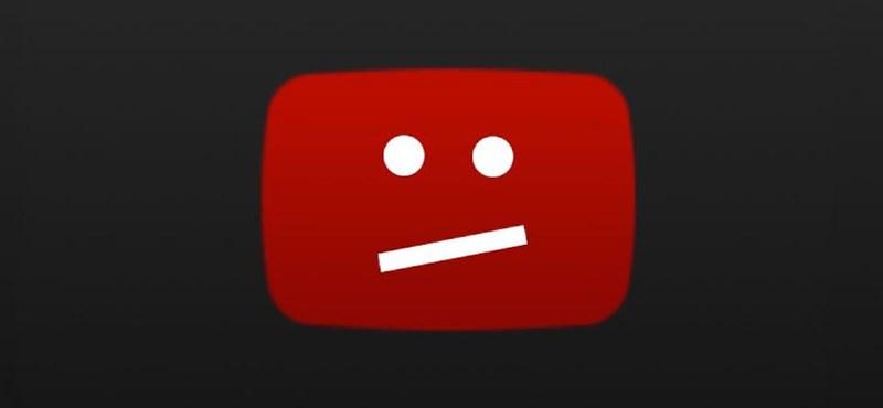 Történetének legnagyobb leállását szenvedte el a YouTube