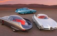 Így látták a jövőt az 50-es években: új gazdára vár 3 futurisztikus Bertone autó