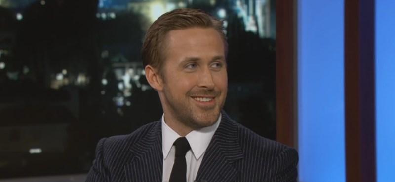 Ryan Gosling imádta Budapestet, de Harrison Fordra is mondott egy cifrát