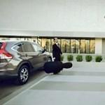 Ne higgyen a szemének a Honda reklámjában