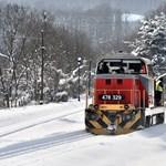 Hófúvás várható a fél országban