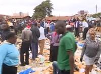 Összeomlott egy osztályterem Kenyában, hét gyermek meghalt