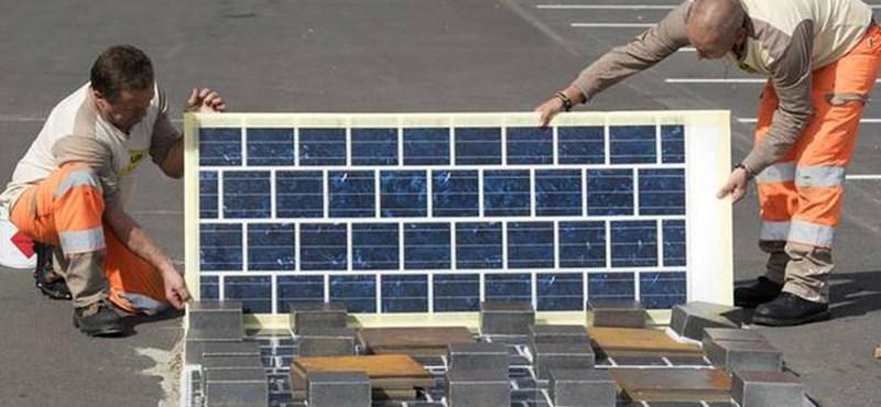 Kínában csináltak egy 1 km-es átlátszó, napelemes autópályát, aztán jöttek a tolvajok