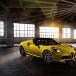 Ismét múzeumba illő kabriót alkotottak az Alfa Romeonál