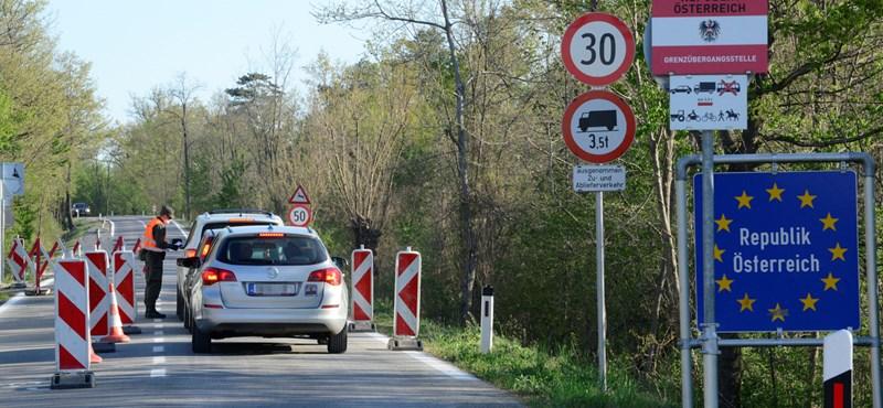 Magyarország felé is megnyílik az osztrák határ