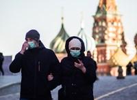 Az oroszok hetedének lehet koronavírus-antitest a vérében