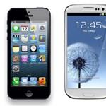 Az iPhone 5 és a Samsung Galaxy S III is a bíróságon köt ki
