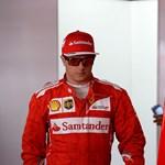 Megbüntették a Ferrarit Räikkönen horrorbalesete miatt – videó