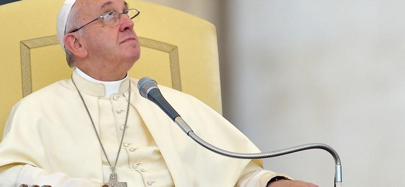 Ferenc pápa rátett egy lapáttal korábbi nyilatkozatára a migránsok befogadásáról