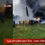 Lezuhant egy katonai repülőgép Algériában - több százan haltak meg