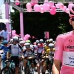 Megvédte összetett első helyét, tovább hordhatja a rózsaszín trikót Valter Attila a Giro d'Italián