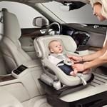Királyként trónolhat minden baba a Volvo új gyerekülés-prototípusában
