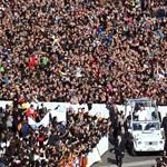 Galéria: könnyekkel és éljenzéssel búcsúztatták XVI. Benedek pápát