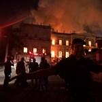 A teljes egyiptomi gyűjtemény elpusztult a Brazil Nemzeti Múzeumban tomboló tűzben