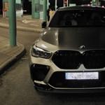 30 milliós BMW X6 M volt a hétvége legnagyobb fogása a határon