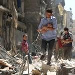 Harmincezren menekültek el egy hét alatt az aleppói pokolból