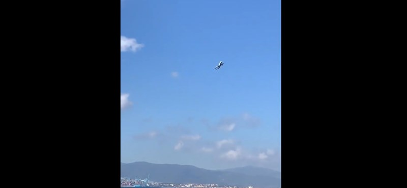 Nem szeretett volna ezen a gépen ülni, amelyet a szél dobált Gibraltár fölött – videó