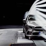 A kecskeméti Mercedes CLA utódja lesz a legáramvonalasabb autó?