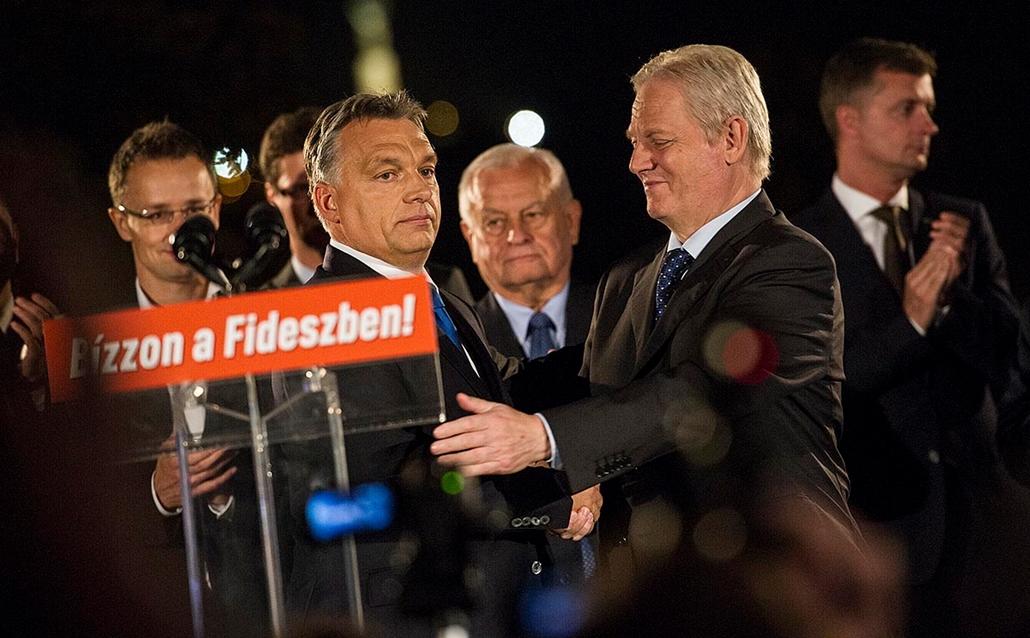 20141013001 tg. választás 2014, önkormányzati választások 2014.10.12. fidesz, Tarlós István, Orbán Viktor