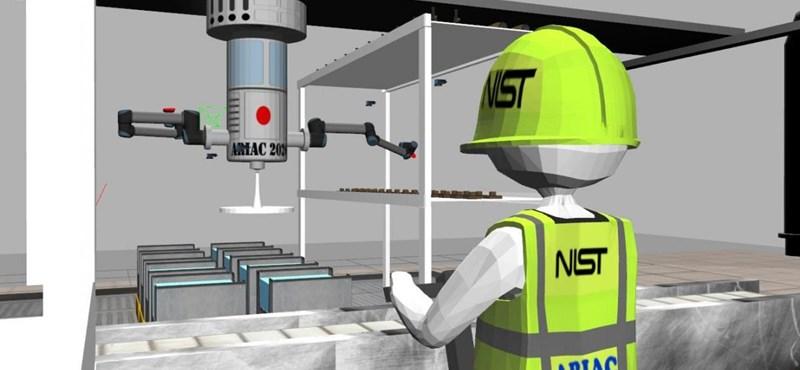 A NASA csapatát is sikerült legyőznie a BME-nek a nemzetközi robotversenyen