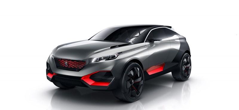 Ötszáz lóerős hibrid szörny a Peugeot-tól