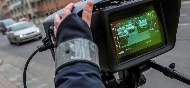 Újfajta traffipaxot vetettek be az osztrák rendőrök – máris mutatjuk a képet róla