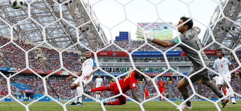 A belgák nem hibáztak, magabiztosan verték Panamát