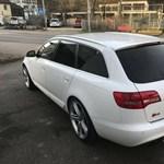 Eladó egy Audi S6-os, amely nem titkolja, melyik focistáé volt