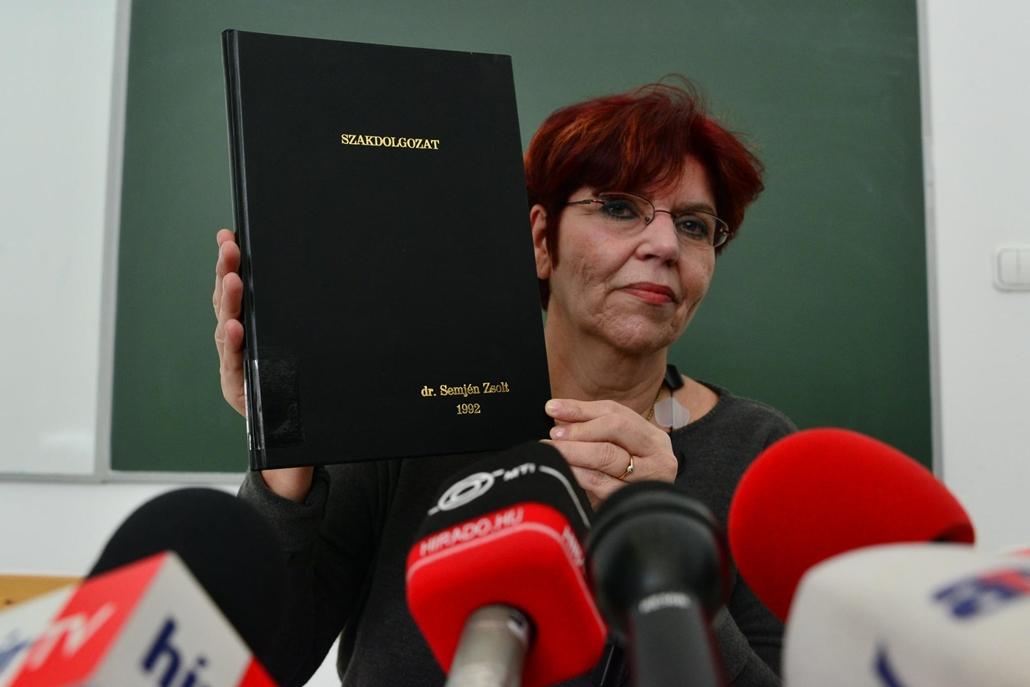 Tausz Katalin a Semjén-ügyről