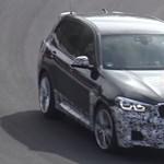 Kémvideón az új BMW X3 M - 475 lóerős lesz a legdurvább változat