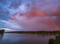 Meseszép szivárványt fotóztak Nagykanizsánál