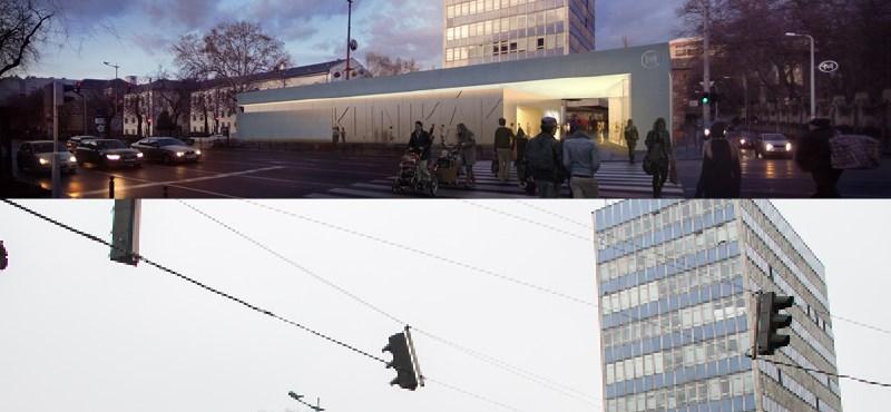 Így nézhetnek majd ki a 3-as metró felújított állomásai – fotók
