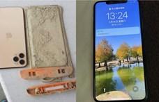 A kiszáradás miatt találtak meg egy tavaly vízbe ejtett iPhone-t