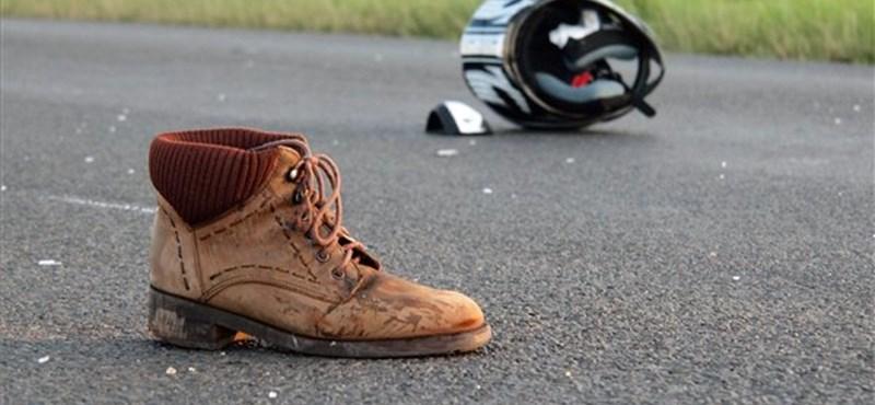 Jogsi nélkül motorozott, meghalt