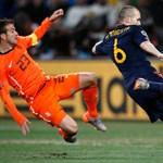 """Iniesta: """"először azt hittem, lesgólt lőttem"""""""